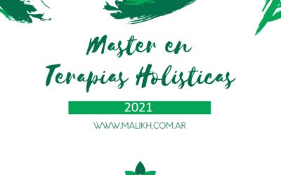 Master en terapias holísticas – Marzo 2021