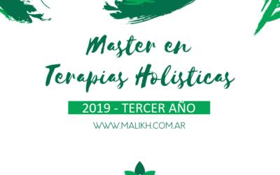 Master en terapias holísticas – 2019 (3er Año)