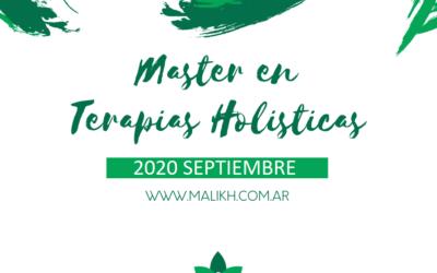 Master en terapias holísticas – 2020